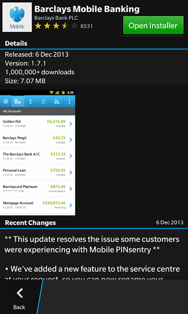 barclays app android