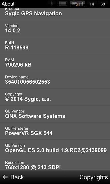 Sygic GPS Navigation 14 0 1 Working Fine on Z10