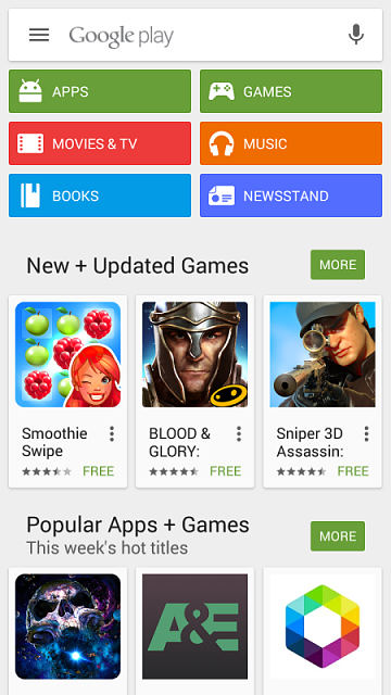 Google Play Store for PC Download Windows 81/10/7