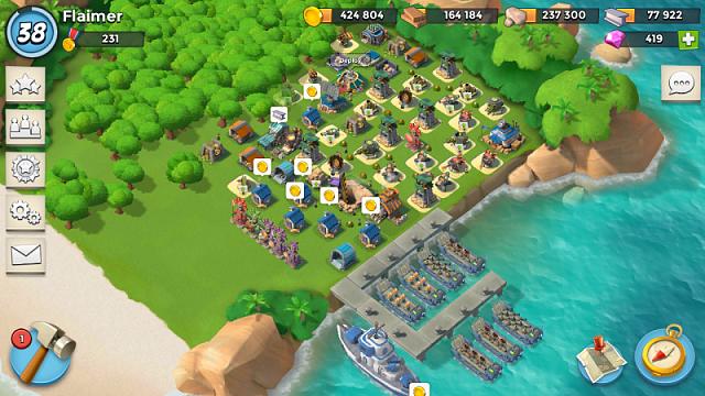 Boom Beach Wallpaper Boom Beach And Clash of Clans