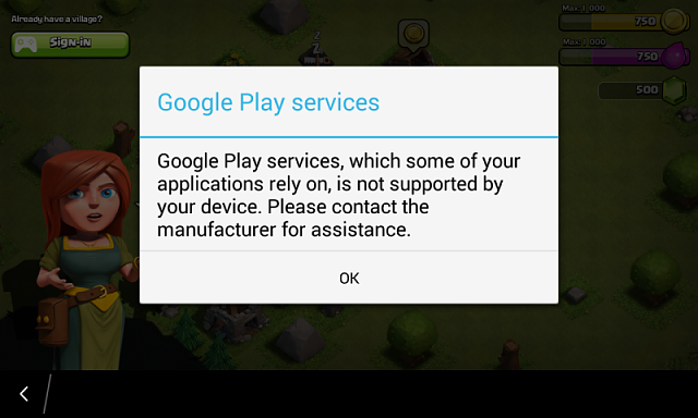 Google play service which some of your application rely on,is not supported by your device plz conta-s5393_4.png