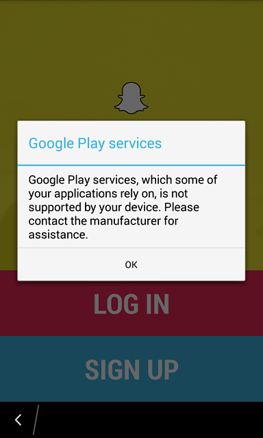 How to run Snapchat without Google Play Services
