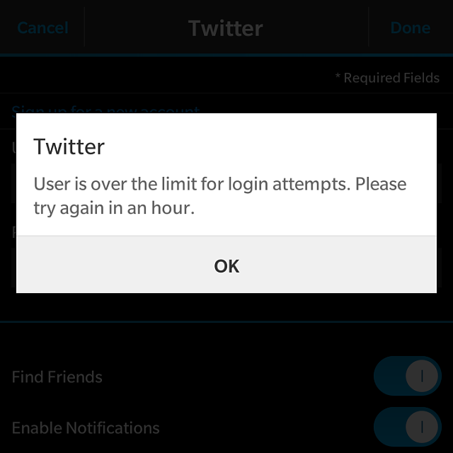 Twitter and other apk app issues since OS upgrade - BlackBerry