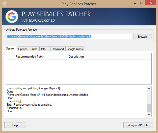 How to patch Android Apps depending on Google Maps and Google Play