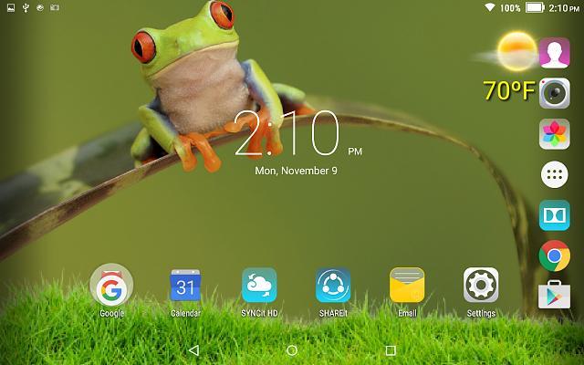 New App: Visual Arts - Weather Home and LockScreen Wallpaper