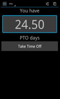 pto paid time off tracker blackberry forums at crackberry com