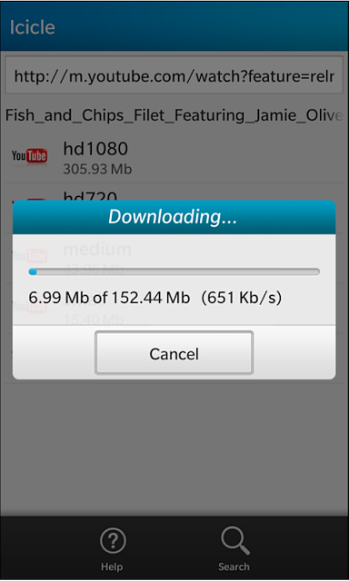 Icicle - YouTube Downloader for Z10 released!-s5.png
