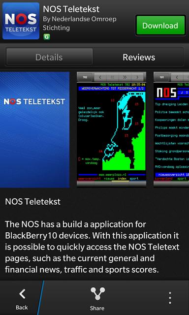 NOS Teletekst (Netherlands) - BlackBerry Forums at ...