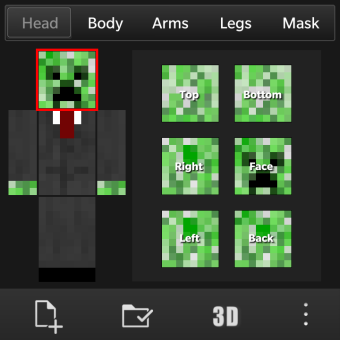 Minecraft Skin Creator Amp Editer Skined Blackberry