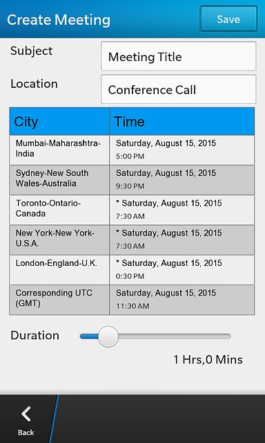 time zone meeting planner