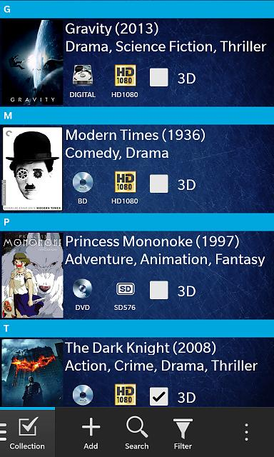 Movie Library for BlackBerry 10 - BlackBerry Forums at CrackBerry com