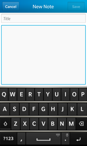 Memo Notes Pro for BlackBerry 10-screen2.png