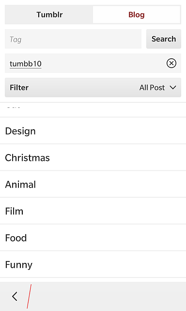 Wall - Tumblr client for BlackBerry 10.-img_20141128_235636.png
