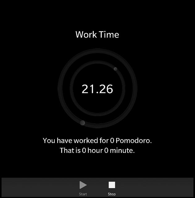 Pomodoro Timer - A BB10 Native App - BlackBerry Forums at
