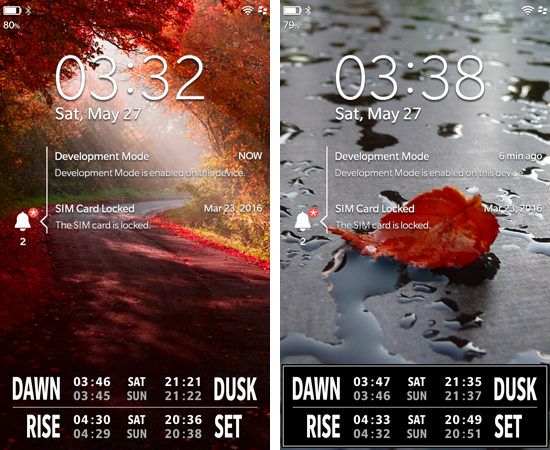 Live LockScreen: THE SUN  - Live Sun data on your Lock Screen-bb10_live_sun1.png