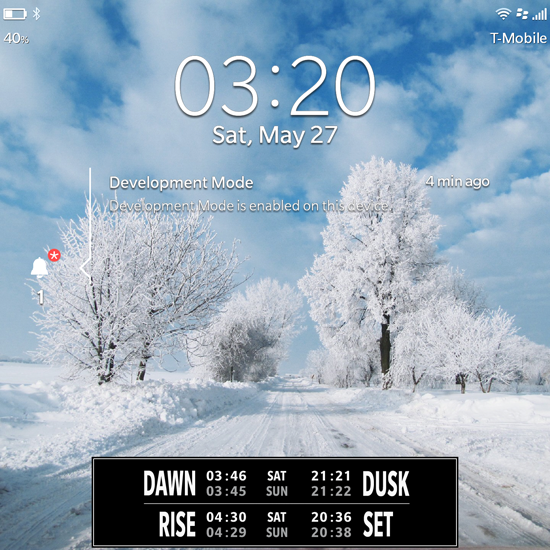 Live LockScreen: THE SUN  - Live Sun data on your Lock Screen-bb10_live_sun3.png