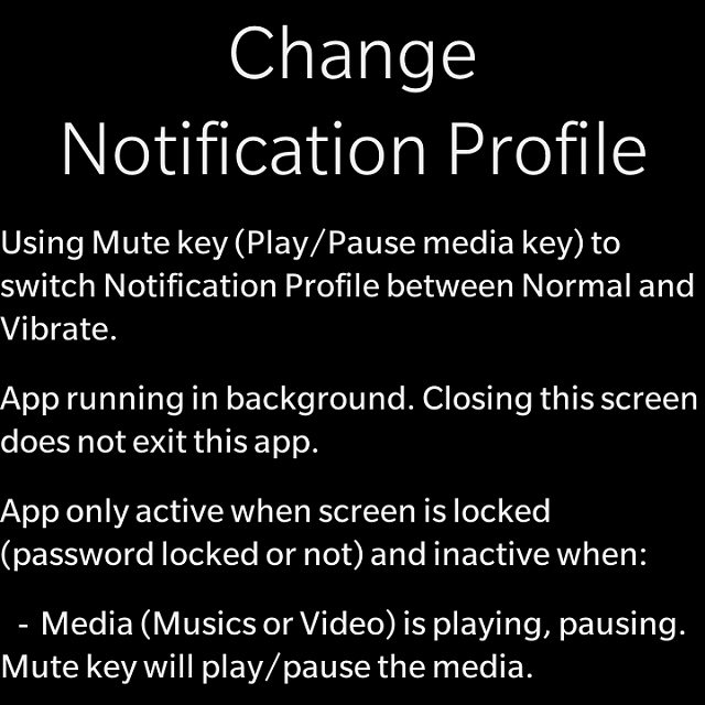 BB10] Redeem code for Change profile - App using mutekey