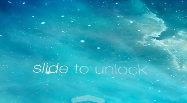 how to get slide to unlock on ios 11