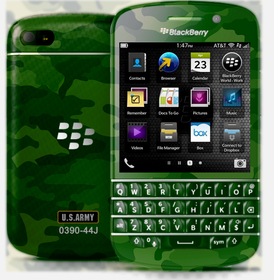 How About A Blackberry Q10 Custom Order Department Blackberry
