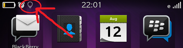 "location services indicator always ""on"" BB10-q10.png"
