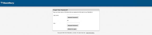 BlackBerry Id password reset - BlackBerry Forums at CrackBerry com