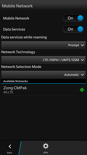 4G not working on my Z30 - BlackBerry Forums at CrackBerry com