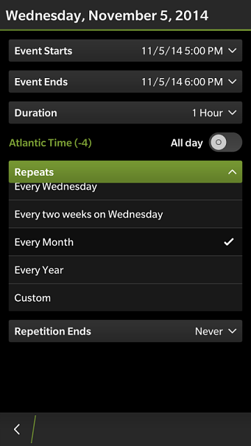 How can I set repeating calendar event on BB 10?-img_20141106_183208.png