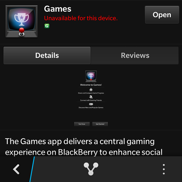 "Blackberry Q-5 ""Games"" application error-img_20150212_234012.png"