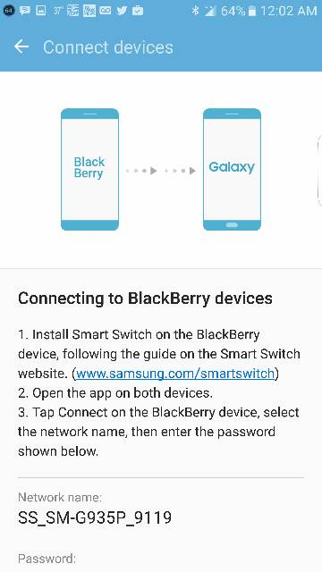 Help with Samsung Smart Switch app - BlackBerry Forums at CrackBerry com