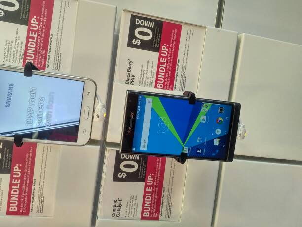 T-Mobile still has the BlackBerry Priv and the manager said its selling very well.  He has one as a -127061.jpg