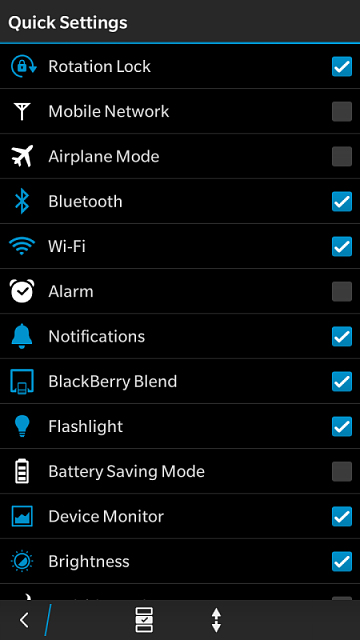 BlackBerry Blend from the Quick Settings menu on your device. How do you set it? I checked it but I -img_20161001_103020.png