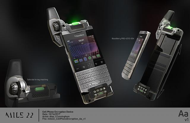 The Blackberry Phone Used In The Movie Mile 22 Where Can