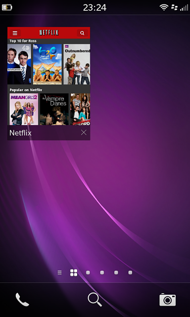 netflix app for blackberry playbook