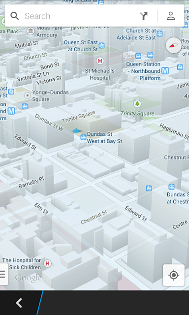 Google maps 7 0 works great on BlackBerry 10 2 - BlackBerry