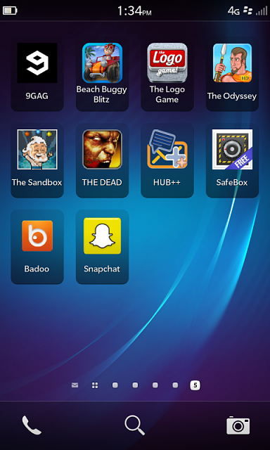 Snapchat For The Blackberry Z10 - Page 2 - Blackberry -3300