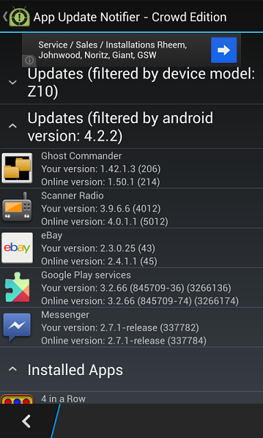 android krack update how to get