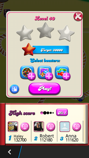 Candy Crush App for Laptop