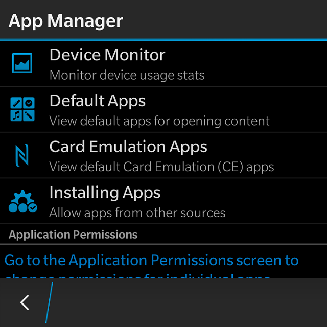 have Apple using android apps on blackberry z10 switch between different