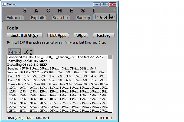 Sachesi: Firmware Extractor, Searcher and Installer-sachesi-screenshot-1.png