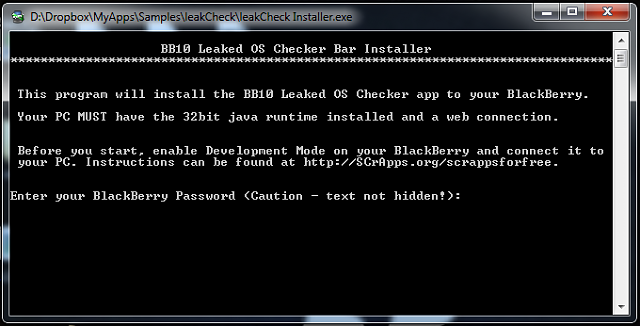 Free BlackBerry 10 Leaked OS Checker App-leakcheck1.png
