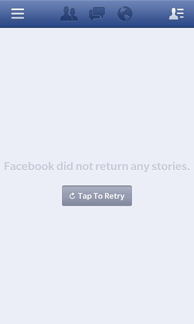 Facebook News Feed Not Loading Properly  Translated version of http
