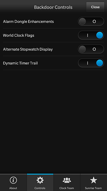 BerryLeaks Presents:  Porsche Design Clock - for Z10-backdoor-controls.png
