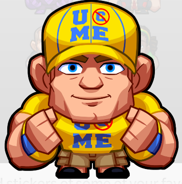 WWE Stickers BBM