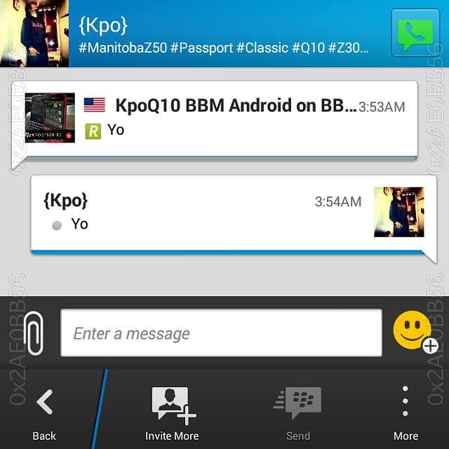 7 BBM running on your BB10! (10 3 only) - BlackBerry Forums