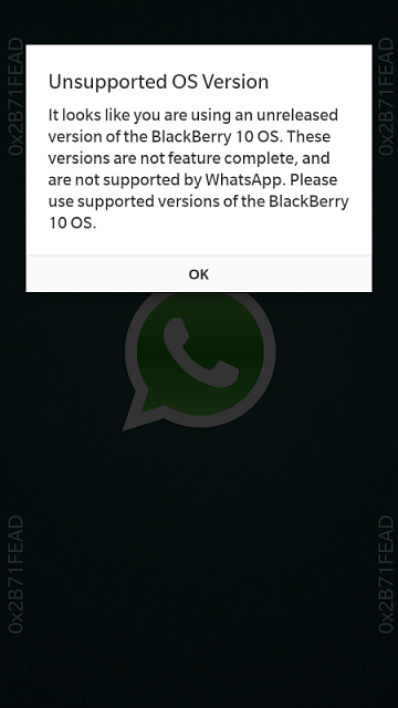 Don't Download Latest Whatsapp On 10 3!! - BlackBerry Forums