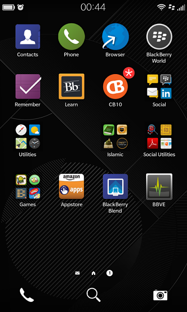 Blackberry Pictures Disappeared