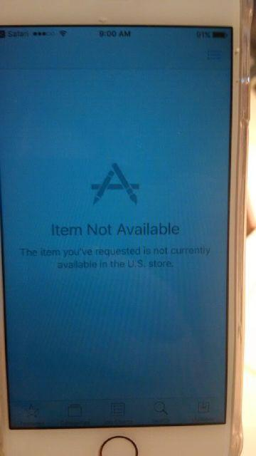 Bbm Showing As Not Available In App Store On Iphone BlackBerry - Not available on the app store