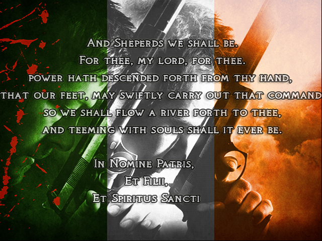 gallery for the boondock saints wallpaper