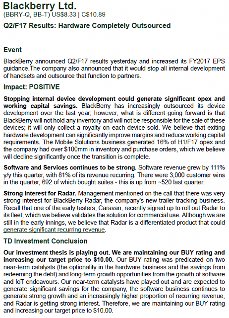 The BBRY Café.  [Formerly: I support BBRY and I buy shares]-td-bank-analysis-q2-2017.png