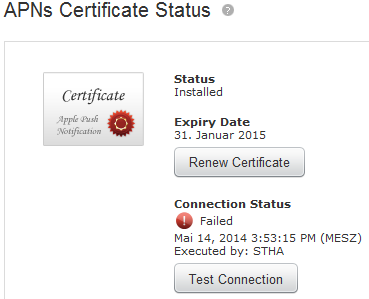 """Connection status failed"" for APN Certificate-apn.png"